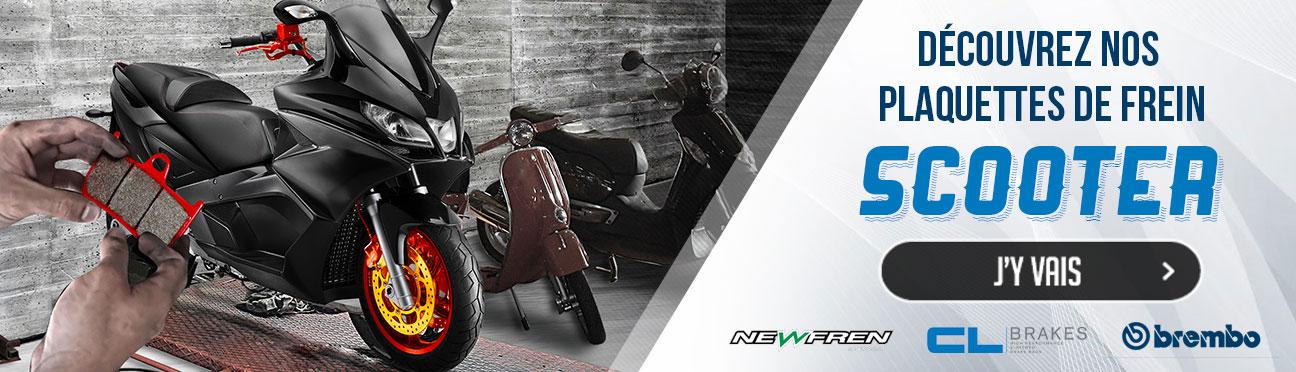Plaquettes de frein Scooter La Bécanerie