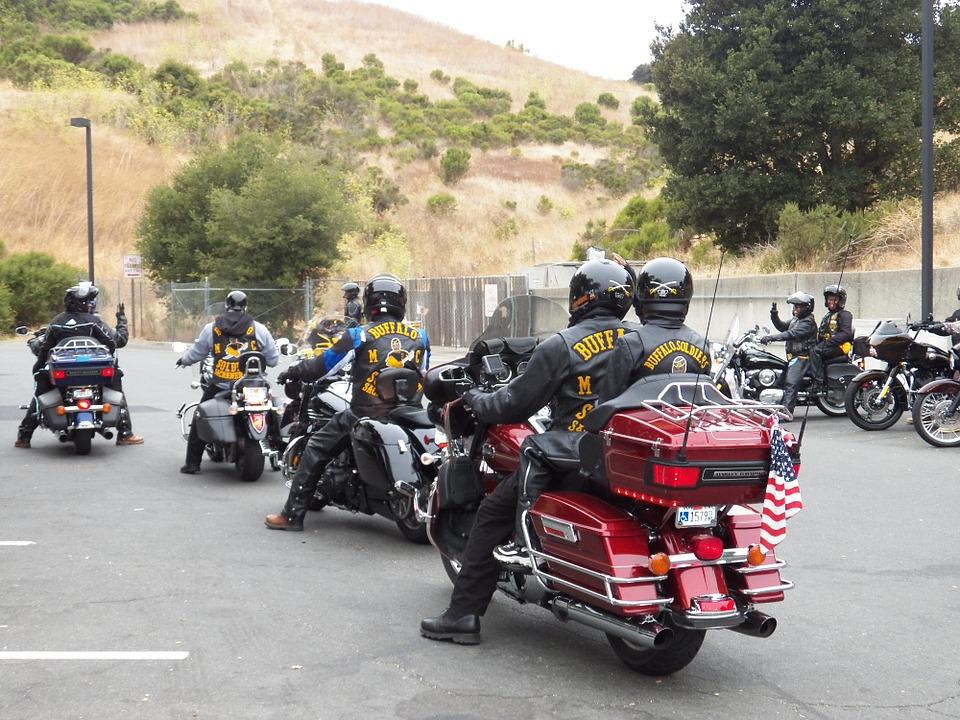 Sortie de groupe motards