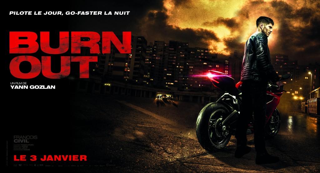 Film moto BURN OUT avec La Bécanerie